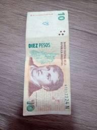 Dinheiro antigo argentino