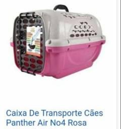 DUAS Caixas de transporte Pet usadas apenas uma vez