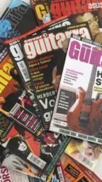 Coleção revistas guitar players