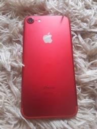 iPhone 7 red 128gb muito conservado