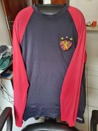 Camisa UV50+ Litoraneus (usada) 50 cada.