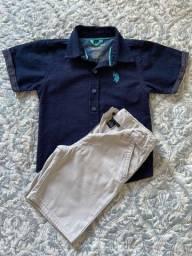 Camisa e Bermuda importadas