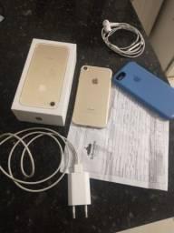 Vendo iPhone 7 bateria 91 porcento