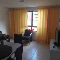 Título do anúncio: Apartamento com 1 dormitório para alugar, 43 m² por R$ 2.000,00/mês - Cabo Branco - João P