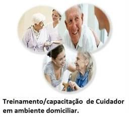 Treinamento domiciliar para cuidadores de idosos