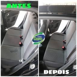 Limpeza  higienização interna carro(Porto Velho)
