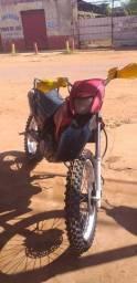 Moto pra trilha