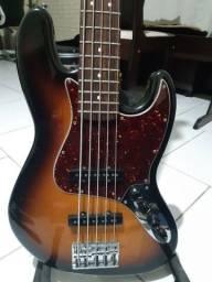 Título do anúncio: Baixo Fender Jazz Bass Active Deluxe V