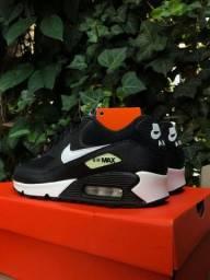 Nike Air Max 90 Black White feminino