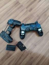 Controle PS4 original retirada de peça.