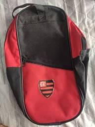 Bolsa pequena do Flamengo para futebol