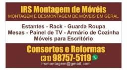 Montador de móveis Consertos e Reformas!