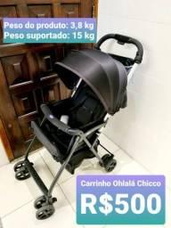 Carrinho de Bebê Chicco Ohlalà 2 - Black Night