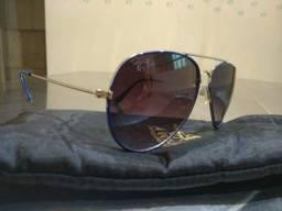 Oculos escuro Fem azul