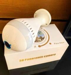 PROMOÇÃO!! Lâmpada Câmera Inteligente 360°(ENTREGA JÁ INCLUSA)
