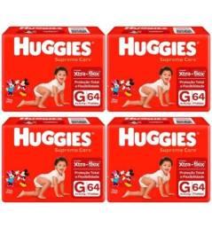 Título do anúncio: Fraldas Huggies Supreme Care