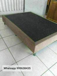 base de cama box casal nova embalada em promoção