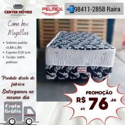 Título do anúncio: Cama Solteiro Espuma NOVA DE FÁBRICA NA PROMOÇÃO