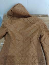 Jaqueta de couro Nova nunca usada .
