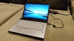Notebook Toshiba A205, muito bom.