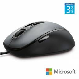 mouse com fio comfort usb 4fd00025 preto/cinza
