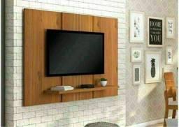 Painel para TV sala ou quarto rústico terrara