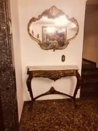 Título do anúncio: Aparador com espelho antigo estilo Luís XV