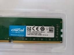 Memoria DDR4 Crucial 16Gb 2666mhz