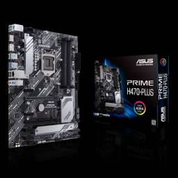 Placa Mae Asus Prime H470-Plus<br>