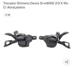 Shimano deore m6000 10 velocidade. Leia o anúncio