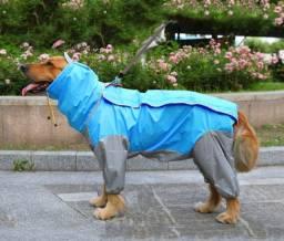 Capa de chuva para cães