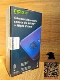 G9 play 64GB, Lacrado, NF e 1 ano de garantia