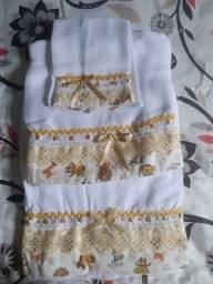 Kit d toalha fralda 3 pessa
