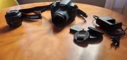 KIT Canon T5 + lente 18-55 mm + lente 50 mm + acessórios