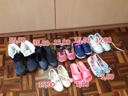 Sapatos tamanho 29
