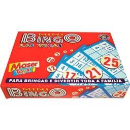 Mini Jogo de Bingo Las Vegas 417- 8383