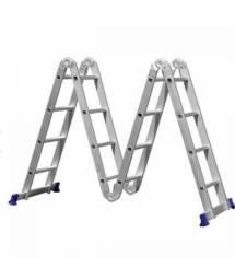 Escada articulada 4x4 marca mor suporta 150 kg produto novo