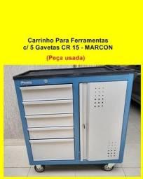 Título do anúncio: Carrinho para ferramentas com 5 gavetas CR15 Marcon