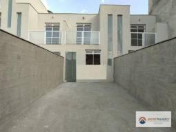 Título do anúncio: Casa geminada com entrada independe duplex com 2 quartos à venda, 58 m² por R$ 249.000 - E