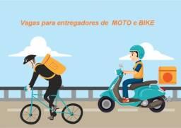 Título do anúncio: Ei amigo entregador de moto ou bike, vagas para atuar em Niterói, venha conferir!