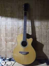 Vendo ou troco violão Phoenix elétrico