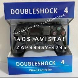 Controle com fio! ps4/PS3 escolhe