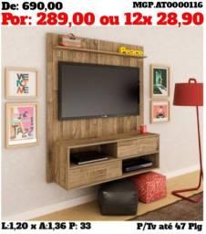 Painel de televisão com Super Promolção até 47 plg - Embalado