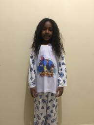 Pijama infantil longo