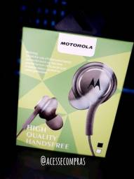 Fone de Ouvido Motorola com  microfone (Entrega Grátis)