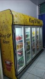 Título do anúncio: Vendo geladeira expositora 5 portas chega a -1 grau
