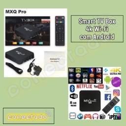 Smart TV Box 4k Wi-Fi com Android