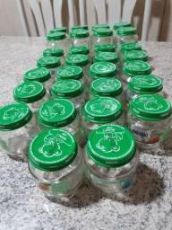 Título do anúncio: Vidros vasios de sopinha Nestlé