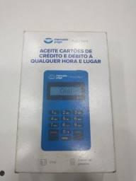 Título do anúncio: Máquina Point Mini Nova Do Mercado Pago Cartão Credito
