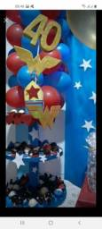 Kit festa- Mulher Maravilha